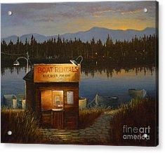 Boat Rentals Acrylic Print
