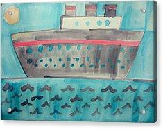 Boat Acrylic Print by Sean Cusack