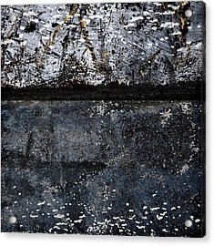 Boat Textures Acrylic Print by Carol Leigh