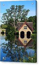 Boathouse Acrylic Print by Joe Burns