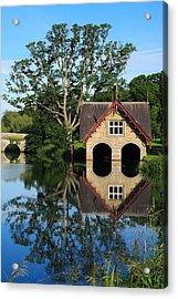 Boathouse Acrylic Print by Joe Burns