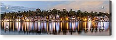 Boathouse Row Lftc Acrylic Print