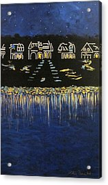 Boathouse Row Acrylic Print