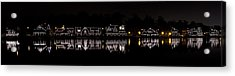 Boathouse Row Panorama - Philadelphia Acrylic Print