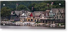 Boathouse Row Philadelphia Pa  Acrylic Print