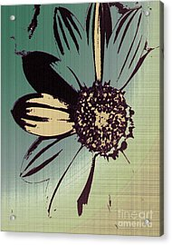 Boating Flower W Acrylic Print
