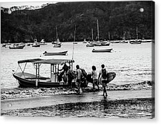 Boats And Boards  Acrylic Print