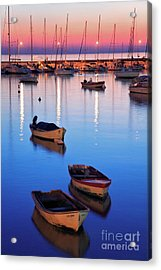 Acrylic Print featuring the photograph Boats by Bernardo Galmarini