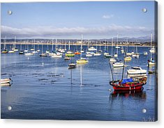 Colorful Monterey Bay Acrylic Print