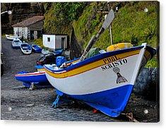 Boats,fishing-19 Acrylic Print