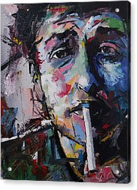 Bob Dylan Acrylic Print by Richard Day