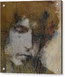 Bob Dylan - The Times They Are A Changin' Acrylic Print