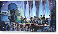 Bob Dylan Tribute Show Acrylic Print by David Sockrider