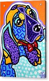 Bob Hound Puppy Acrylic Print