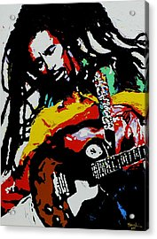 Bob Marley Acrylic Print by Eddie Lim