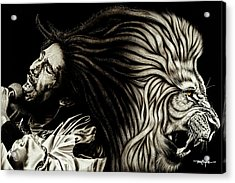 Bob Marley - Lion Heart Acrylic Print
