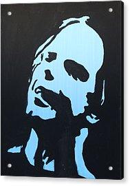 Bob Weir Acrylic Print by Gayland Morris