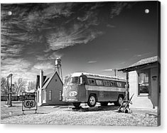 Bob Wills And The Texas Playboys Tour Bus Turkey Tx Acrylic Print by Mary Lee Dereske