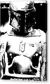 Boba Fett Costume 35 Acrylic Print
