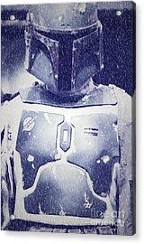 Boba Fett Costume 36 Acrylic Print