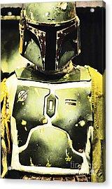 Boba Fett Helmet 31 Acrylic Print