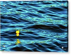 Acrylic Print featuring the photograph Bobbing Bobber by Dee Browning