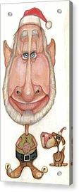 Bobblehead No 60 Acrylic Print by Edward Ruth