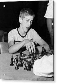 Bobby Fischer, Circa 1957 Acrylic Print