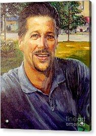 Bobby Acrylic Print by Stan Esson