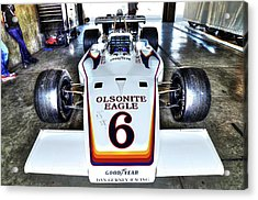 Bobby Unser's 1972 Indianapolis 500 Car. Acrylic Print