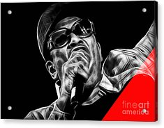 Bobby Womack Collection Acrylic Print by Marvin Blaine