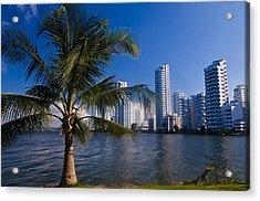 Boca Grande - Cartagena De Indias Acrylic Print by Kobby Dagan