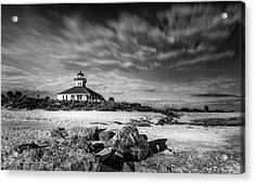 Boca Grande Florida Bw Acrylic Print by Marvin Spates