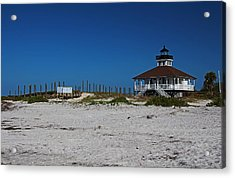 Acrylic Print featuring the photograph Boca Grande Lighthouse Ix by Michiale Schneider