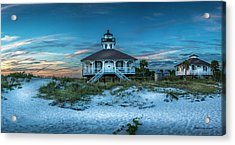 Boca Grande Lighthouse Acrylic Print by Marvin Spates