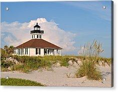 Boca Grande Lighthouse Acrylic Print by Steven Scott