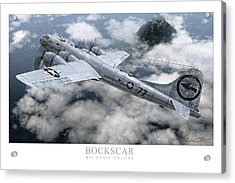 Bockscar  Acrylic Print by David Collins