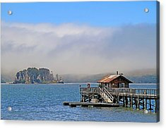 Acrylic Print featuring the photograph Bodega Bay by Donna Kennedy