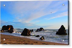 Bodega Bay Sunset Acrylic Print
