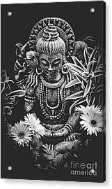 Bodhisattva Parametric Acrylic Print by Sharon Mau