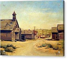 Bodie California Acrylic Print by Evelyne Boynton Grierson