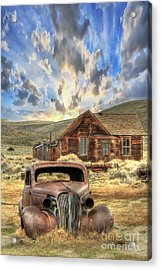 Bodie Ghost Town Acrylic Print by Benanne Stiens
