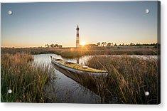 Bodie Island Kayak Acrylic Print