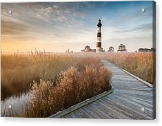 Bodie Island Lighthouse Cape Hatteras National Seashore North Carolina Acrylic Print