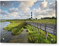 Bodie Island Lighthouse North Carolina Acrylic Print by Mark VanDyke