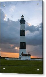 Bodie Island Lighthouse Sunset Acrylic Print