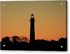Bodie Light At Sunset Acrylic Print