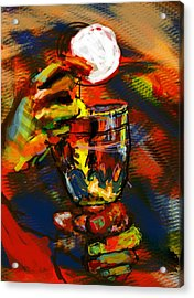 Body And Blood Acrylic Print by James Thomas