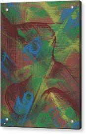 Body Fusion Acrylic Print by Cathy Minerva