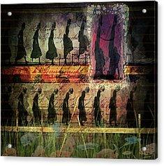 Body In Motion Acrylic Print